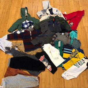 huge boys bundle size 12-18